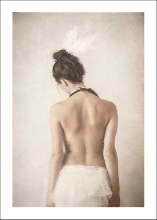 FEATHERS - Art print 50x70 cm