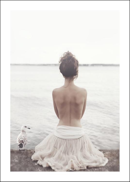 Ballerina, art print 50x70 cm