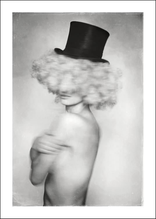 Clown, art print 50x70 cm