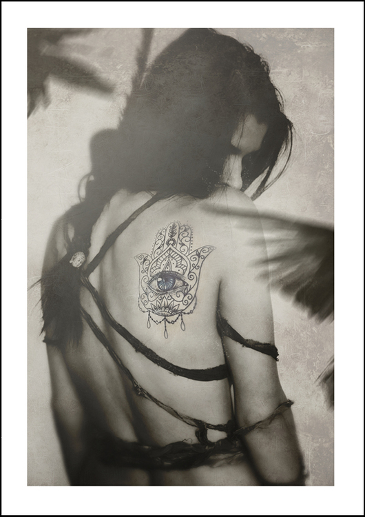 HAMSA - Art print 21x30 cm