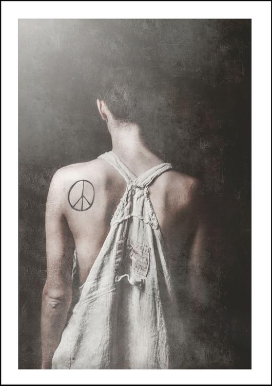 PEACE - Art print 21x30 cm