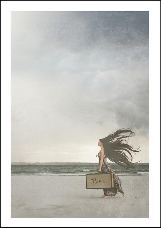 HOME - Art print 21x30 cm
