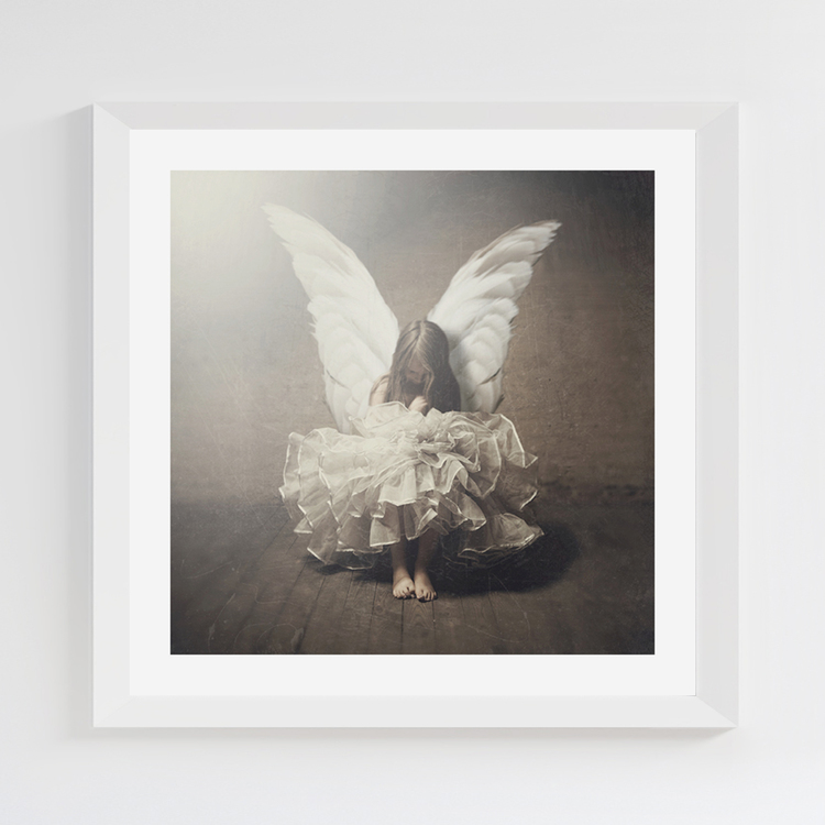 Little Angel print 22,5x22,5 cm