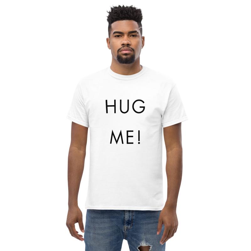 HUG ME! T SHIRT with friendly print