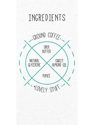 Coffee Scrub, Original - 200g