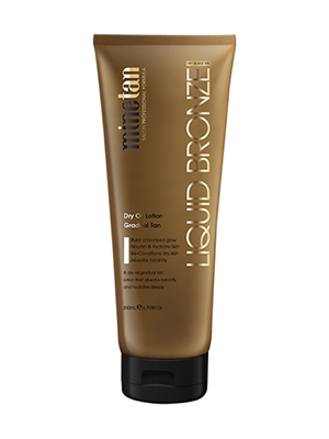 Liquid Bronze, Dry Oil Gradual Tan Lotion - 200ml