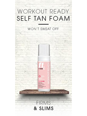 Workout Ready Foam - 200ml