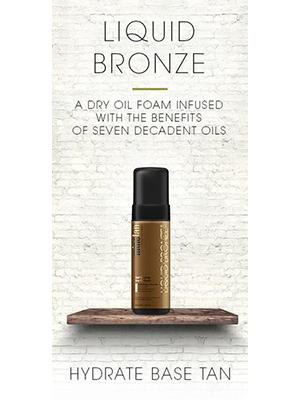 Liquid Bronze, Dry Oil Foam - 200ml