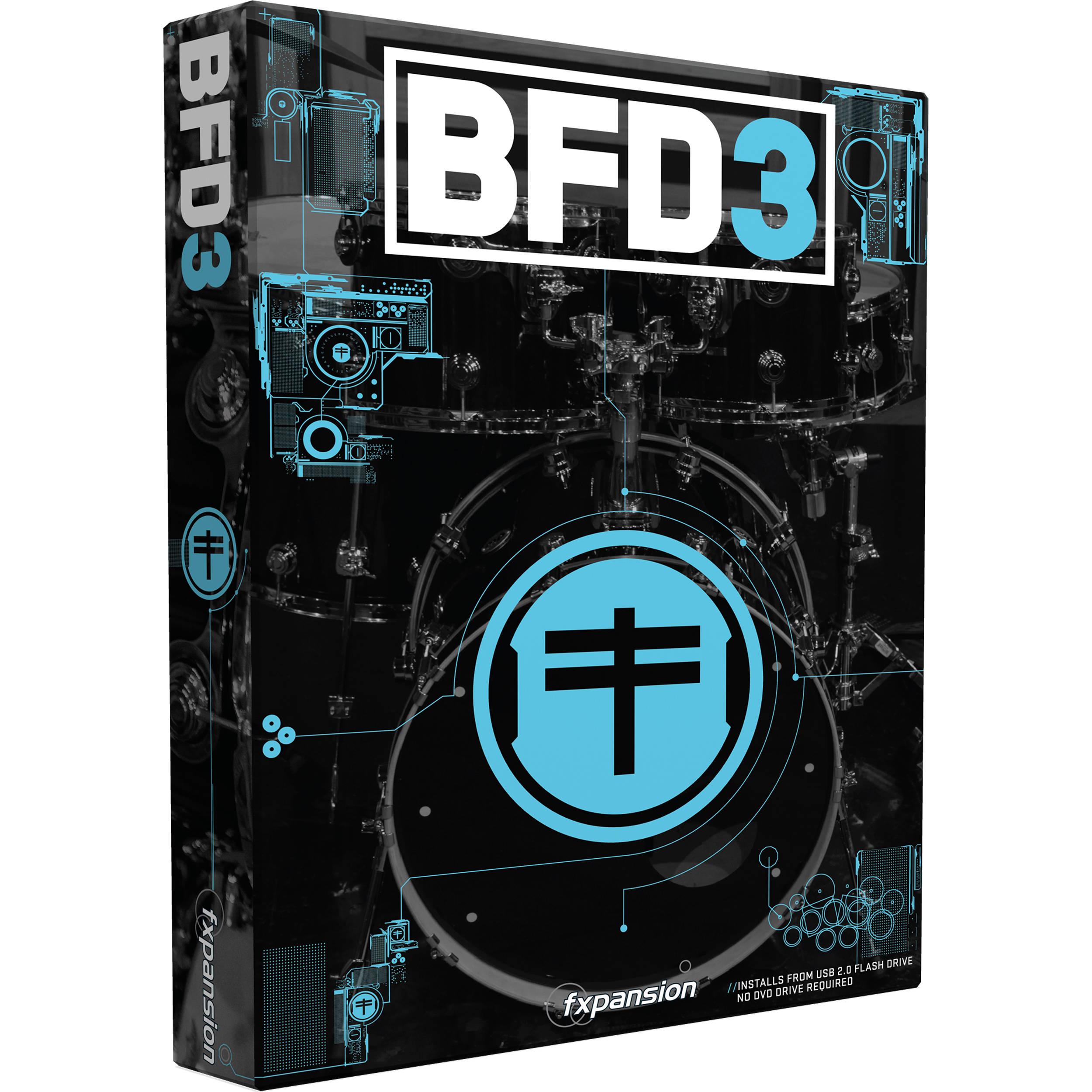 FXPansion BFD 3 upgradering från BFD 2
