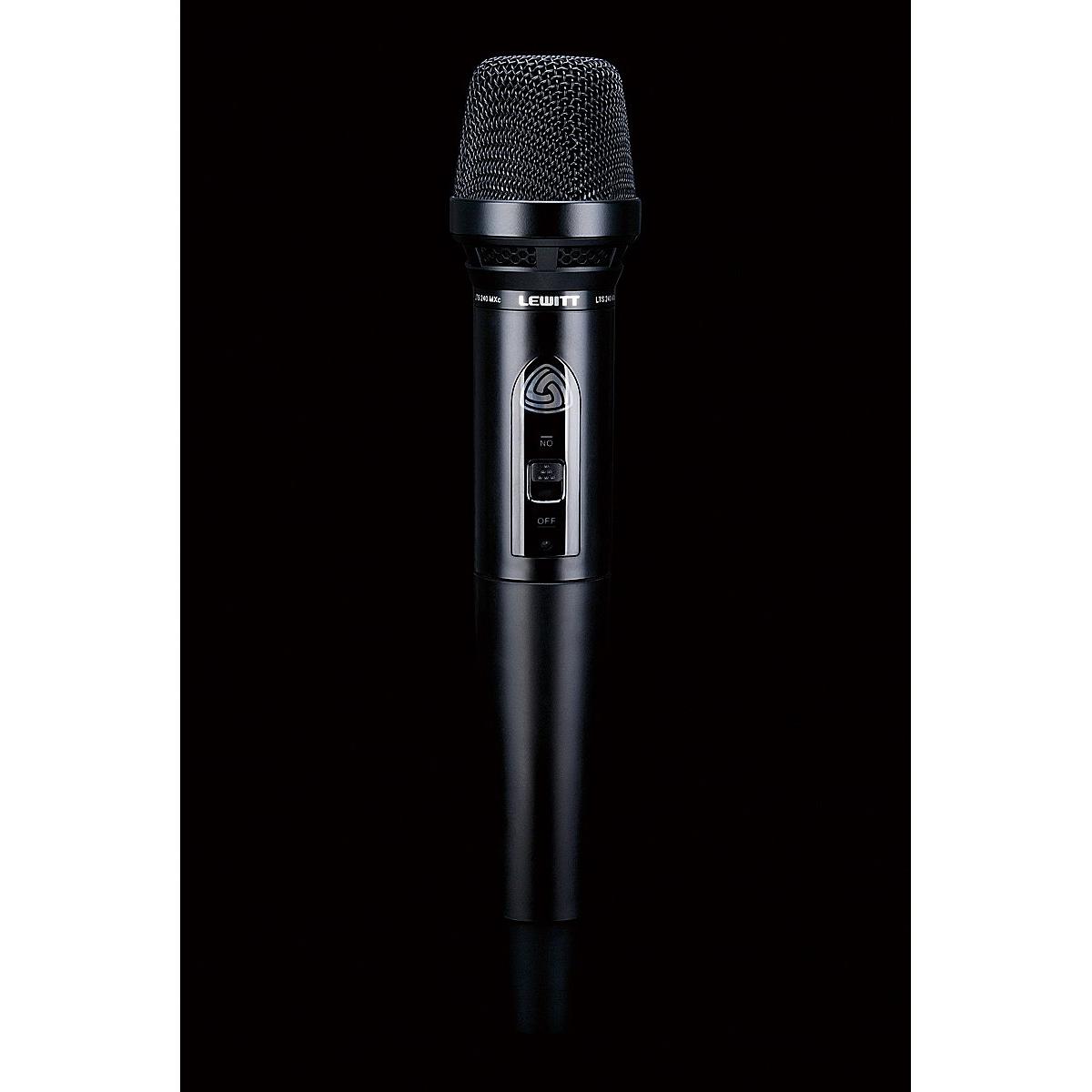 Lewitt LTS 240 Diversity D Trådlös dynamisk mikrofon