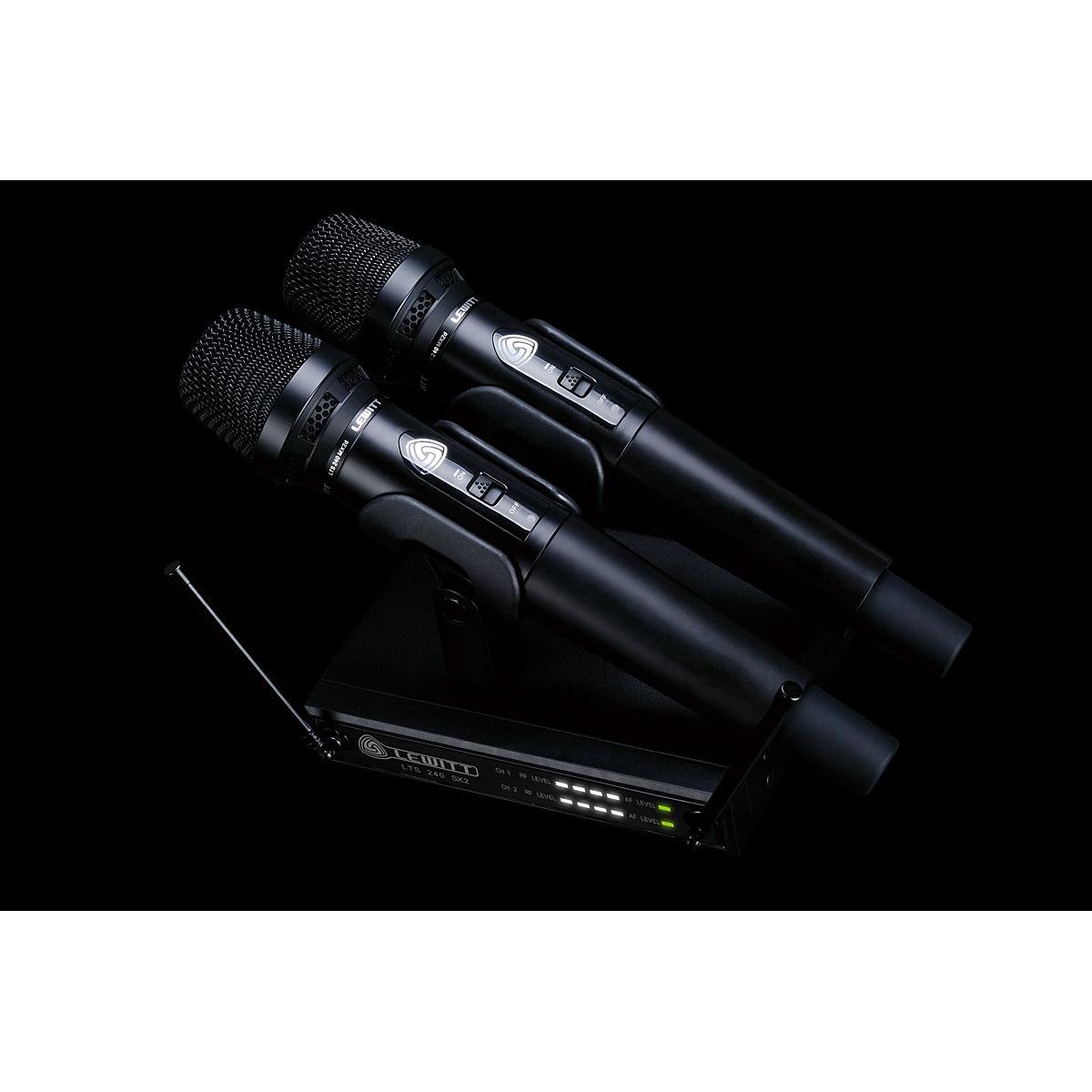 Lewitt LTS 240 Dual D Trådlös dynamisk mikrofon