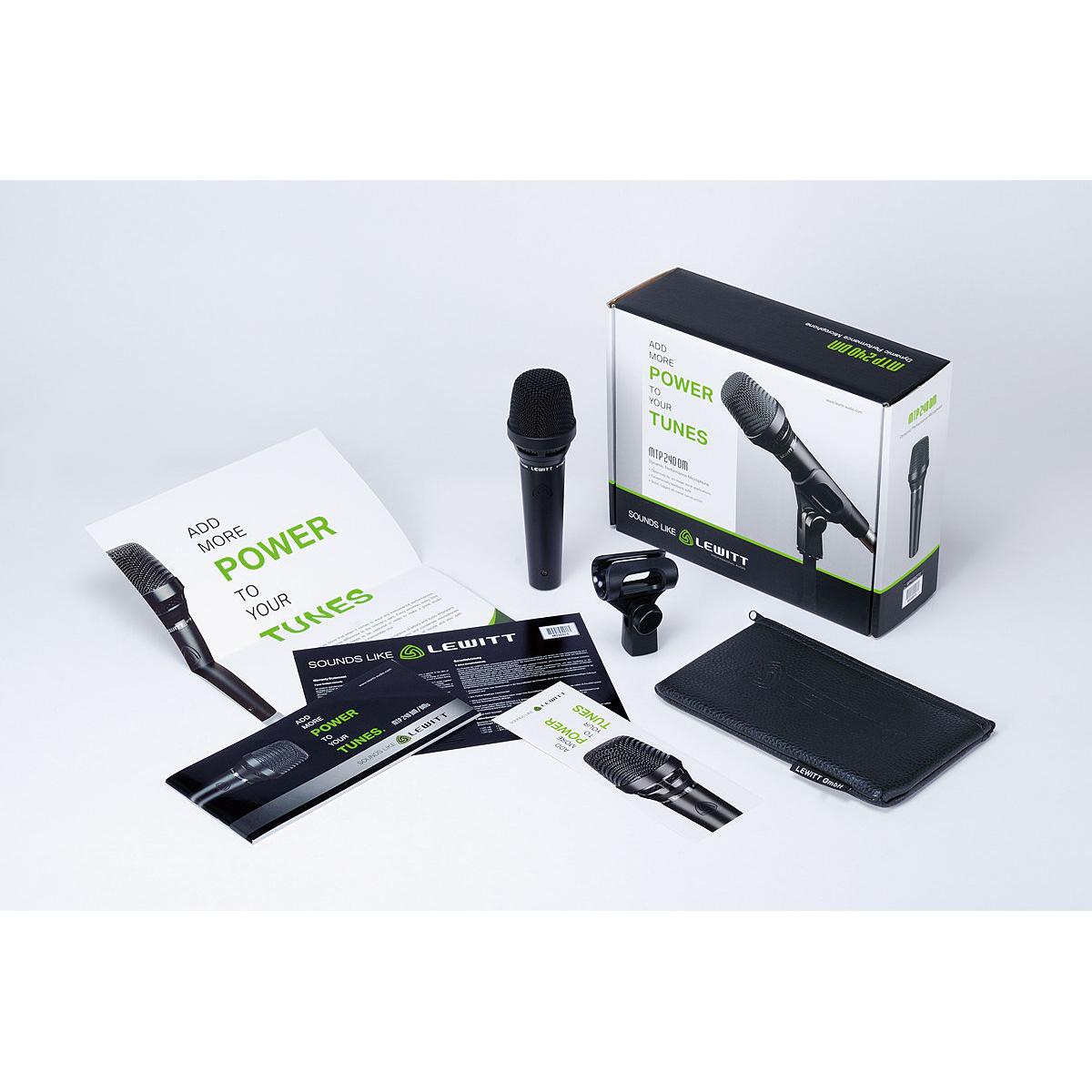 Lewitt MTP 240 DMs Handhållen dynamisk mikrofon