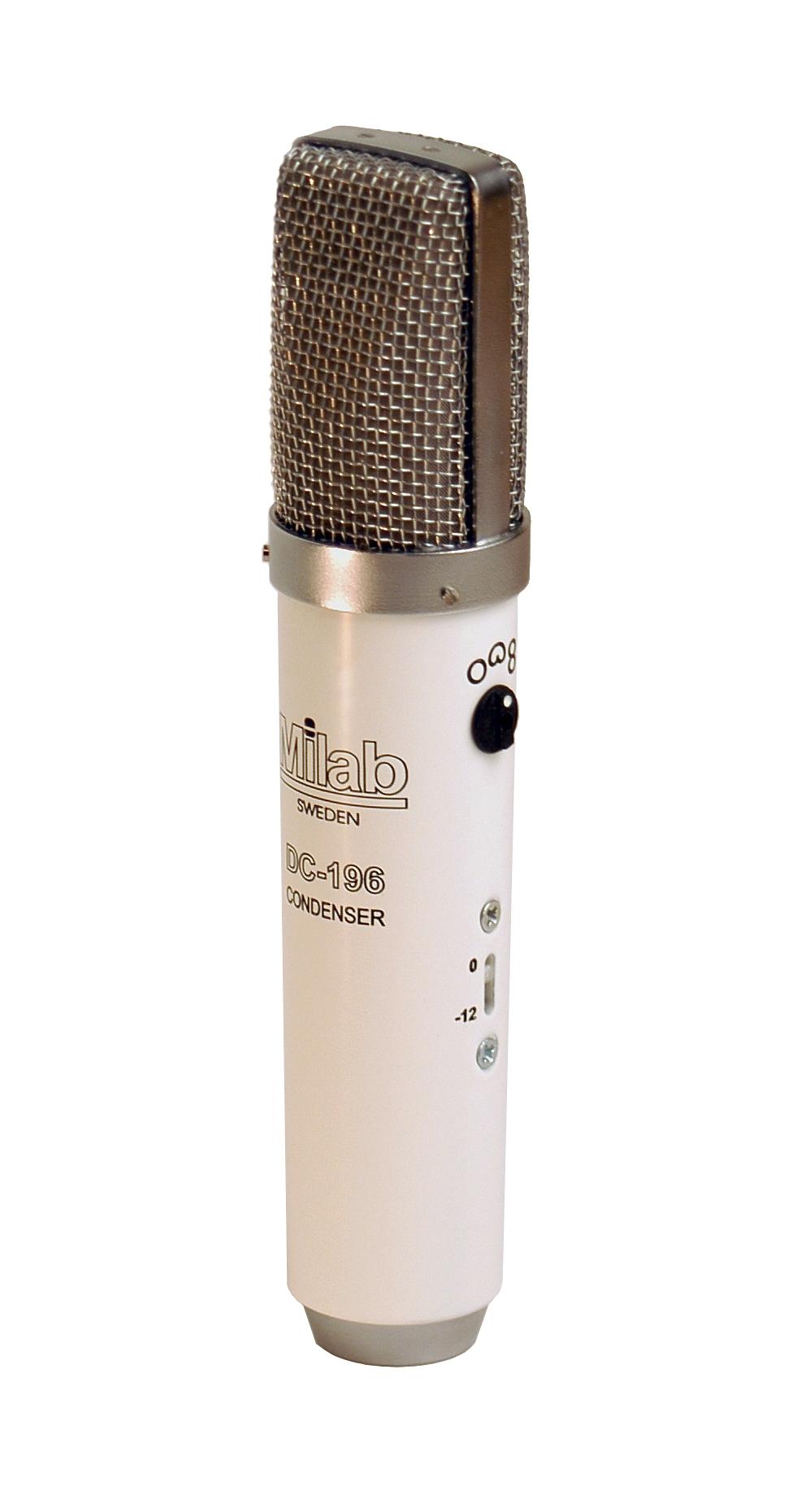 Milab DC-196, Vit kondensatormikrofon med rektangulärt membran