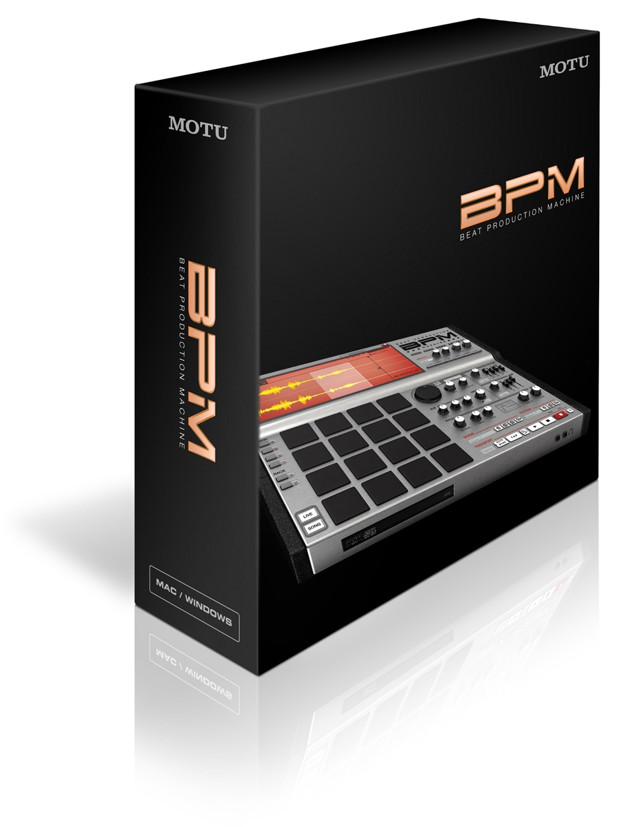 MOTU BPM - Beat Production Machine