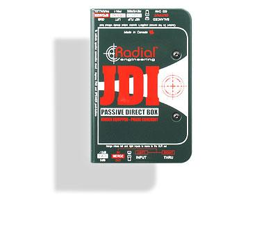 Radial JDI passiv DI-box