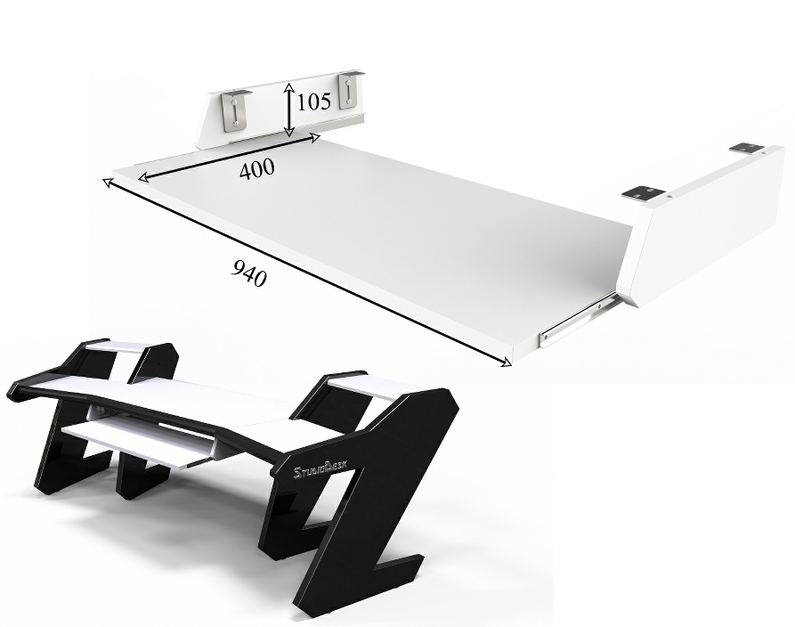 StudioDesk Pro Line Pull Out option