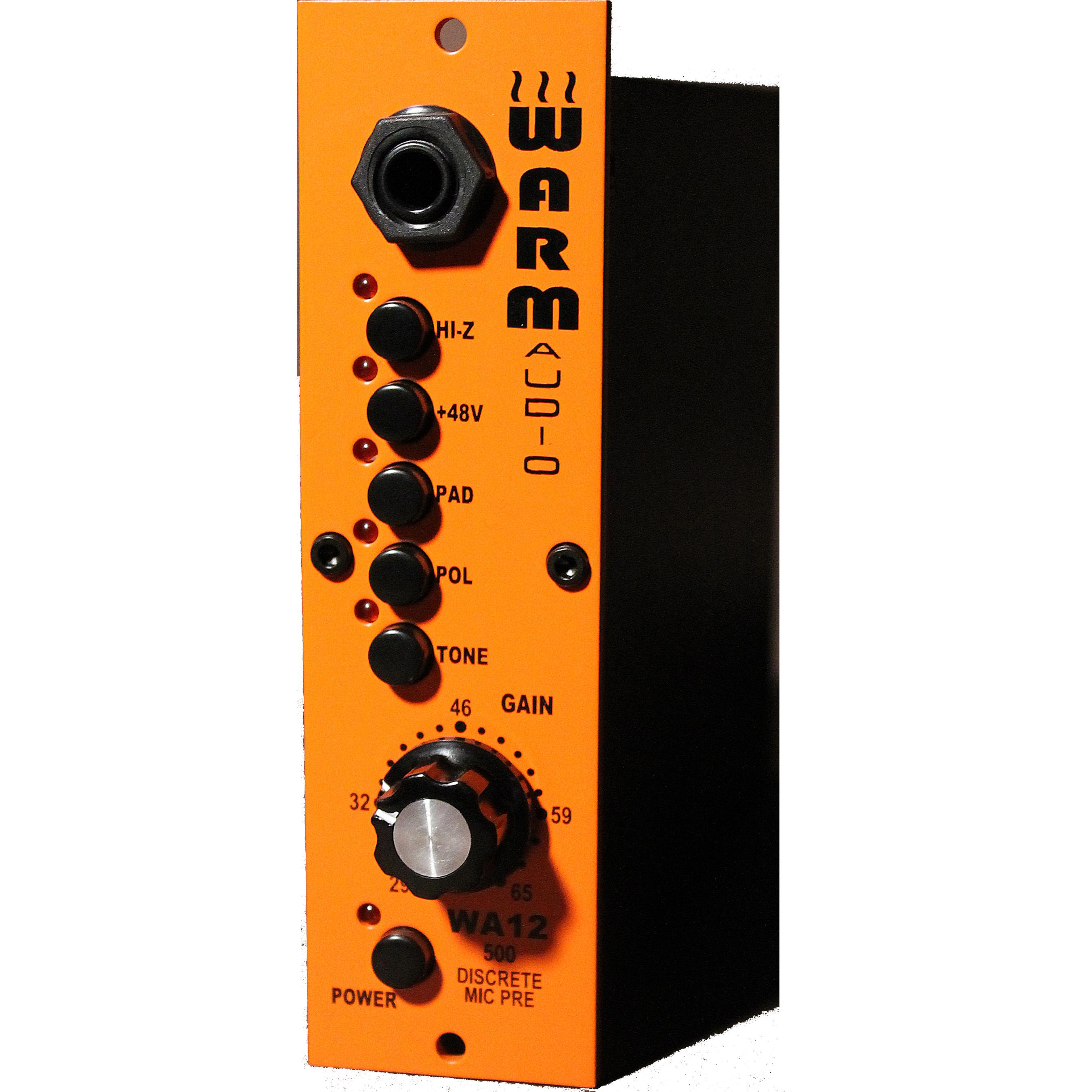 Warm Audio WA12 500 Series Mic Pre