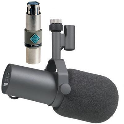 Paket Shure SM7B + Triton Audio FetHead