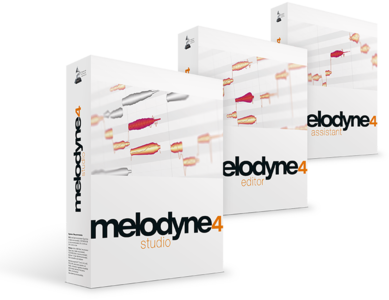 Celemony Melodyne Assistant -> Studio 4 upgrade