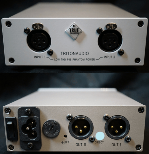 Triton Audio True Phantom fantommatning