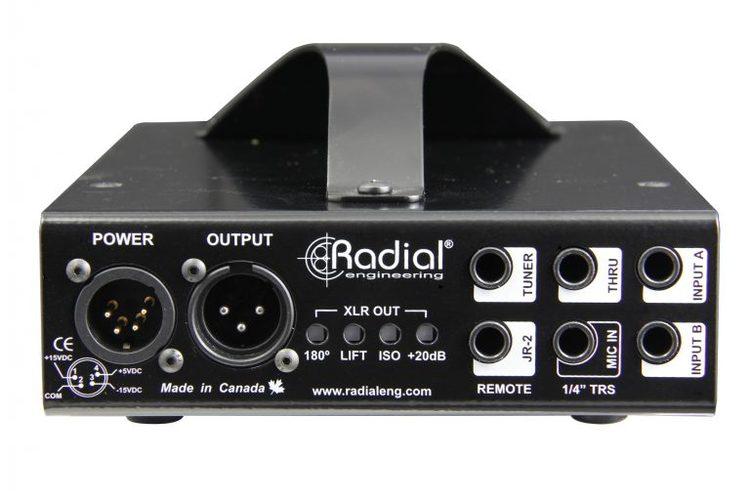 Radial JDV aktiv DI-box