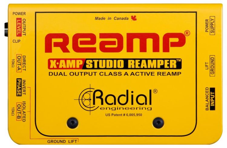 Radial X-Amp reamper