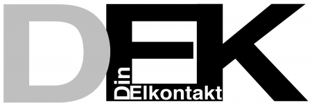 DinElkontakt logo