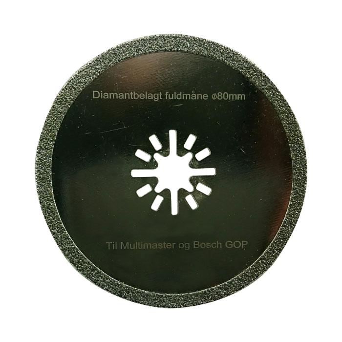 Multicutter Fullmåne fogrens för multiverktyg (Bosch)  5 st