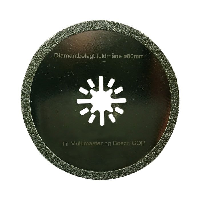 Multicutter Fullmåne fogrens för multiverktyg (Milwaukee)  5 st
