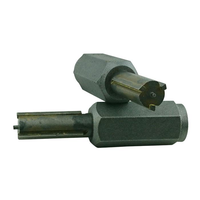 Fogfräsning tegel 3skärs roterande stift 6mm 1st paket (2fräsar)