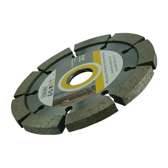 Fogfräs skiva till vinkelslip  6,4mm bred 125mm diameter. 5st
