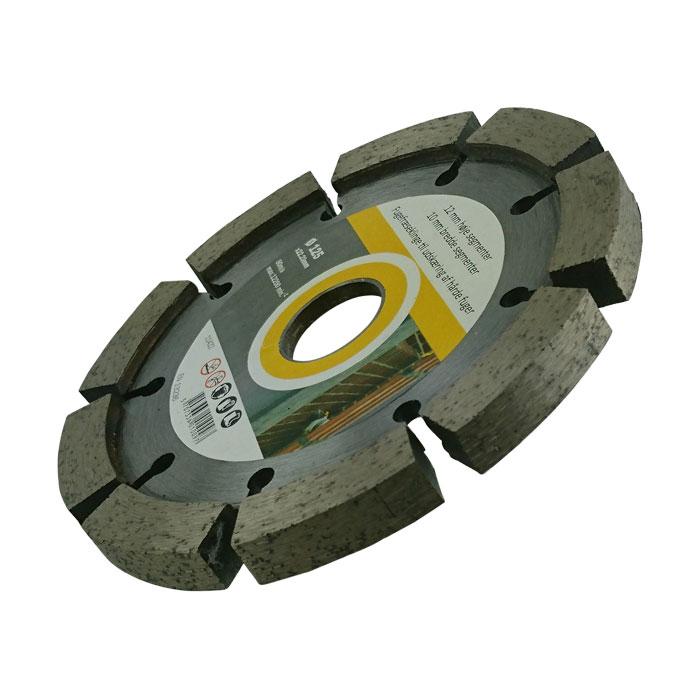 Fogfräs skiva till vinkelslip  10mm bred 125mm diameter. 5st
