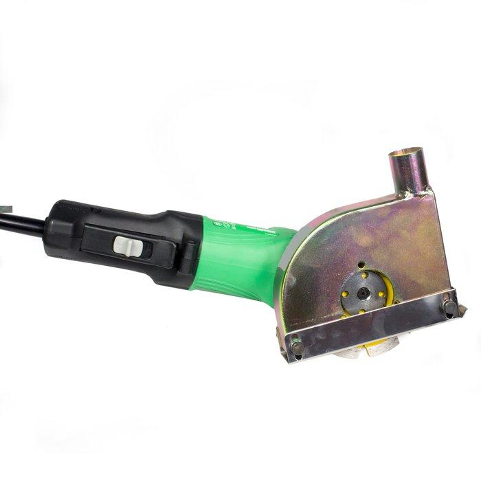 Fogfräs SET komplett med dammsugaranslutning & Bosch 1100w 125mm.