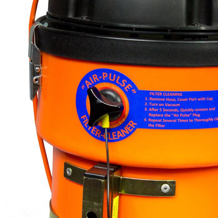 Dammsugare Mur/Platt med mekanisk filterrengöring. SV50e