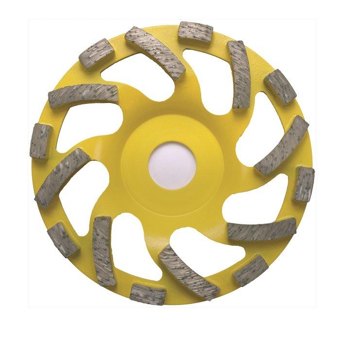 Slipskiva diamant 125 Abrassiv för torrslip