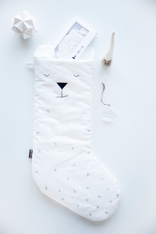 Christmas Stocking Polar Bear, Fabelab