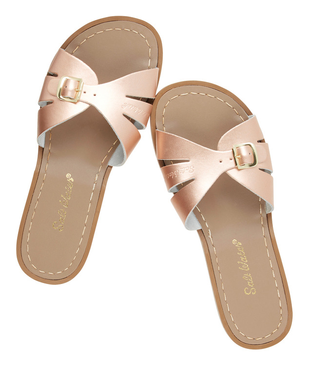 Slides Rosé, Adult Salt-water sandals
