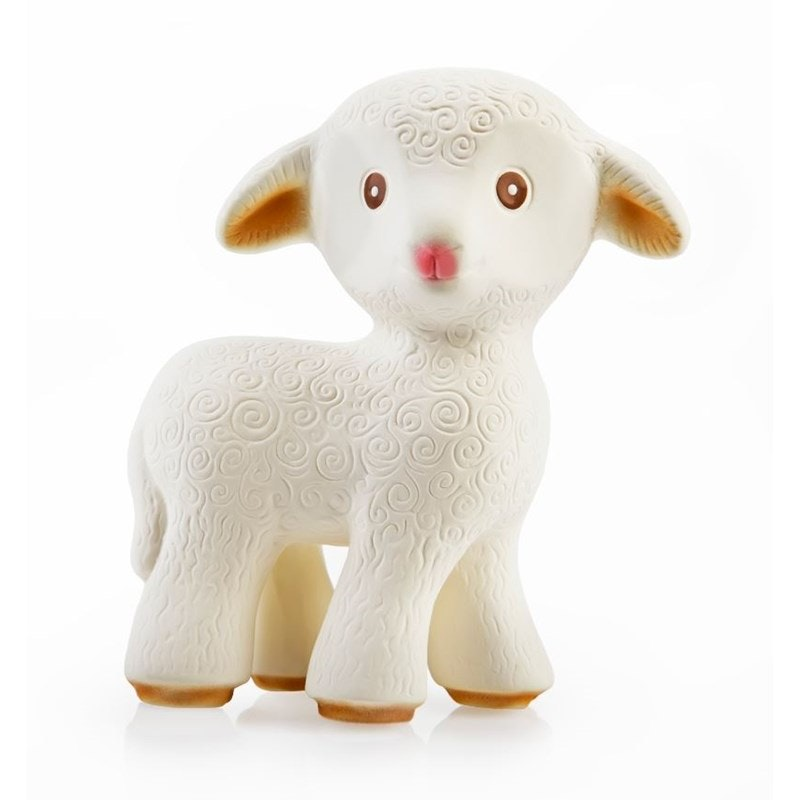 Mia the Lamb, 100% natural rubber toy
