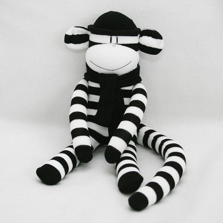Monochrome Sockmonkey