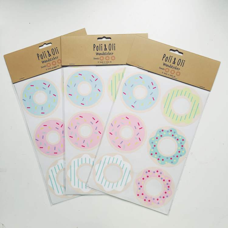 Wallstickers Donuts