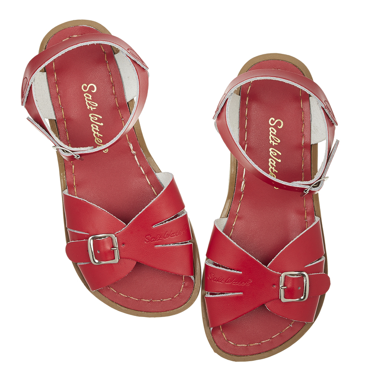 Adult Saltwater-sandals Classics Red
