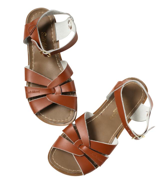 Saltwater sandals, Tan, Original Classics storlek EU 21-33