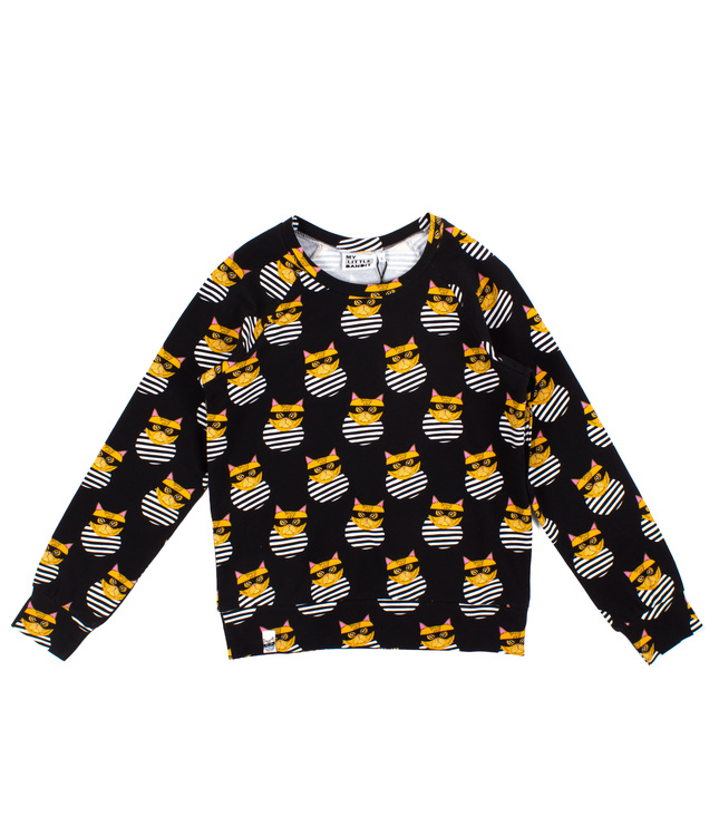 Mama Bandit Sweatshirt Black