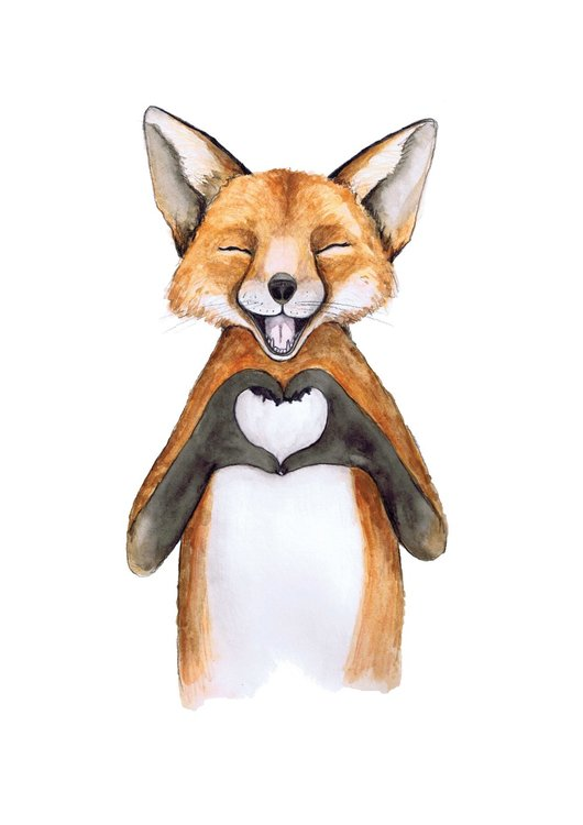 NEW: I Heart Fox A3