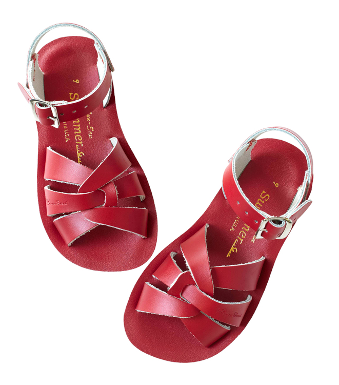 Saltwater sandals, Swimmer Red, EU 21-34