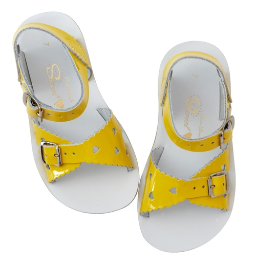 Saltwater sandals, Sweetheart Yellow, EU 21-33