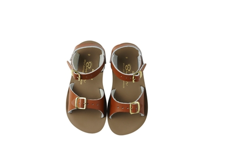 Saltwater sandals, Tan Surfers, Size EU 21-33
