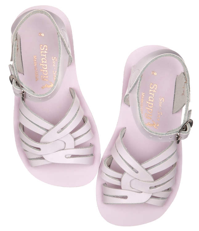 Salt-water sandals Strappy Shiny Pink EU25-32