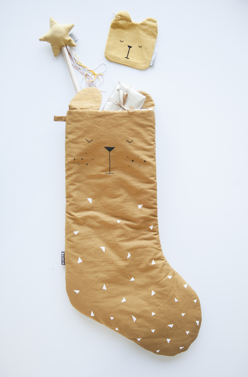 christmas stocking bear fabelab julstrumpa bjrn fabelab lemonloucom