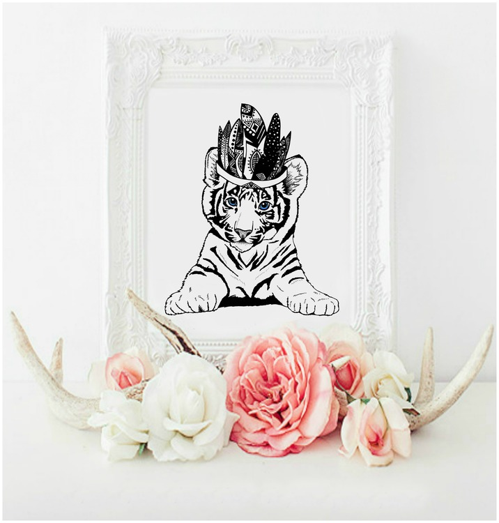 NEW: Monsieur Tiger Miles  A3